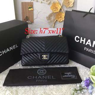 Chanel Chevron Sling Bag