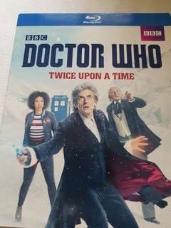 Doctor who twice upon a time blu-ray movie