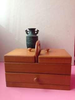 原木珠寶盒