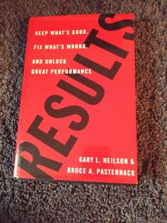 Results by Gary L. Neilson & Bruce A. Pasternack