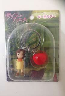 Studio Ghibli- The borrower Arriety keychains