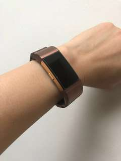 Fitbit Charge 2 Brown Milanese Straps
