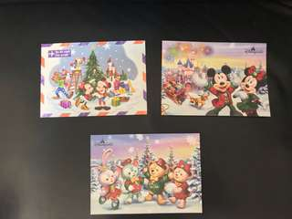 迪士尼post card