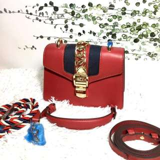 Gucci Chain Red Bag