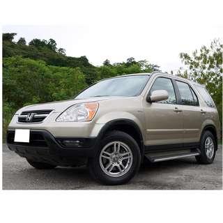 2003年 本田 CRV 4WD 里程僅11萬公里 無待修 可全額貸款