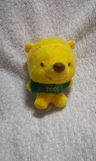#KayaRaya Original Disney Winnie The Pooh Green T-shirt Plush Keychain / Bag Hanger