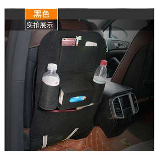 Multi Pocket Felt Organiser Car Back Seat Storage Auto Pouch Bottle Magazine Cup