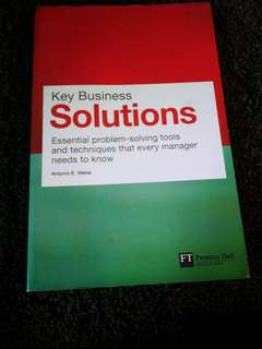 Key Business Solutions by Antonio E. Weiss