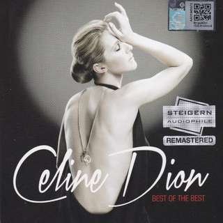 Celine Dion Best of The Best Steigern Audiophile Remastered 2CD