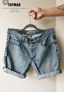 Topman Textured Denim Jeans
