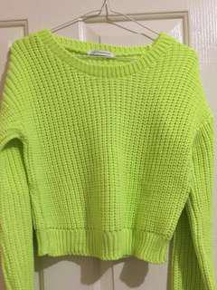 Lime Knit