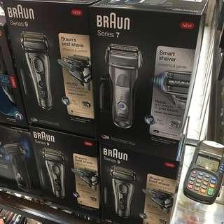 Braun 百靈 電動鬚刨 9290cc和7899cc