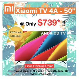 """Xiaomi 4A Android Smart TV - 50"""""""