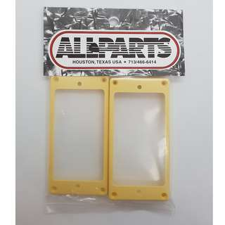 Cream Curved Humbucking Pickup Ring Set for Epiphone® (by Allparts)