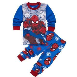 RM100 for 4 sets / RM29.90 for 1 set - Spiderman Pyjamas