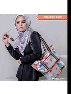 NATURAL MOMS Cooler Bag Tote - Korean Bloom