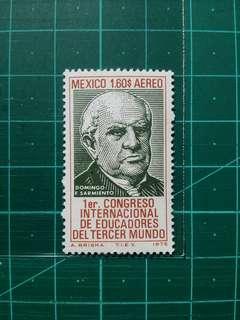 [贈品]1975 墨西哥 第一次第三世界教育者會議 新票一套