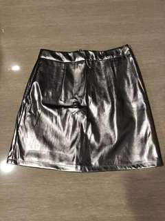 MDS Silver Mini Skirt size S