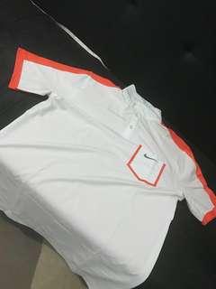 Nike Golf Tour Performance Orange/Off White Polo