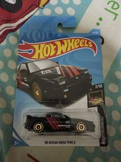 Hotwheels 96 Nissan 180SX type x