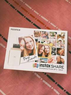 Instax Share Smartphone Printer SP-2 Gold (Negotiable)