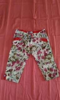 Flowery Jeans