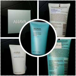 Ahava Mineral hands cream & Mineral body cream (only $10 for 2!)