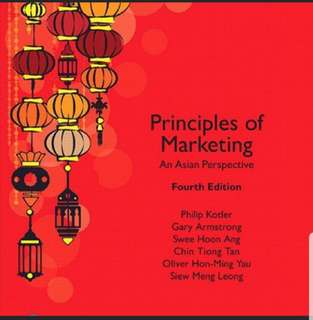 Principles of Marketing (4th edition)