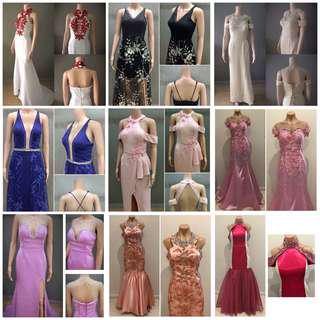 Gowns for sale