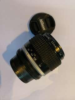 Nikon 35mm f1.4 ais