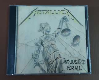 CD Metallica - ...And Justice For All ( Original 1988 Early Press USA )