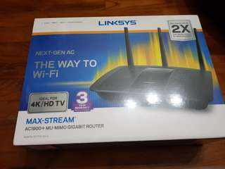 LINKSYS AC1900+Router