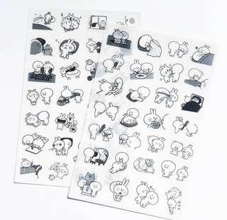 🚚 Sticker sheet