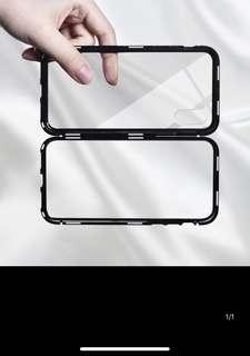 磁力玻璃iphonex套