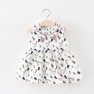 🚚 Fashion in da house little girl dress
