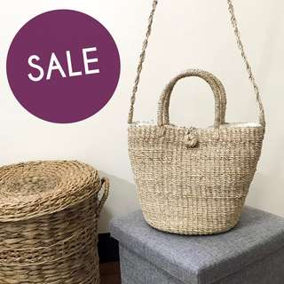 Abaca Bucket Bag