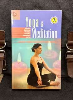 《Preloved Paperback + Ways To Obtain Harmony, Physical, Mental Good Health & Balanced Lifestyle》YOGA & MEDITATION