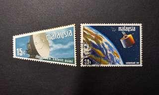 Malaysia Satellite stamps