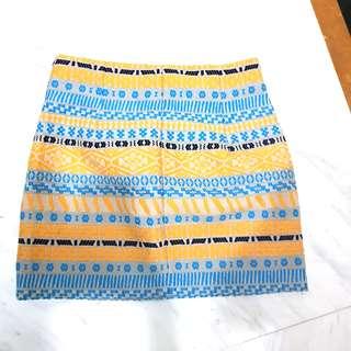 Zara tribal skirt