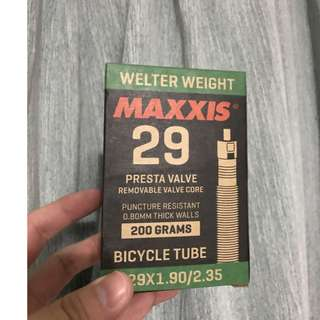 💯🆕Maxxis 29 x 1.90/2.35 Welter Weight MTB Inner Tube