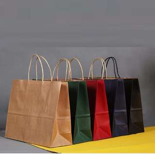 Paper bag gift package