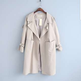 Autumn Long Trench Coat