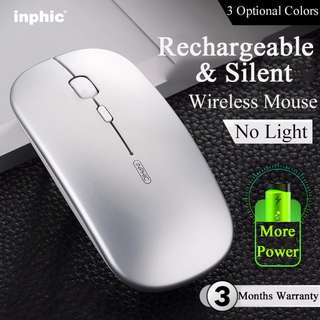 🚚 Wireless Mouse★Chargerable★Quiet★Froseted Surface★Light★Laptop
