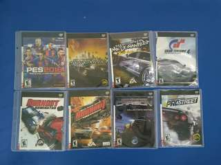 PS2 DVD GAMES