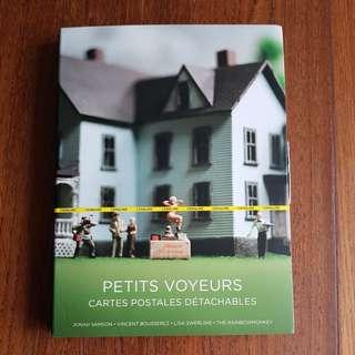 🚚 Petits Voyeurs postcard set