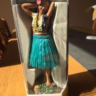 Dashboard hula doll