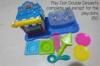 Play Doh Double Desserts