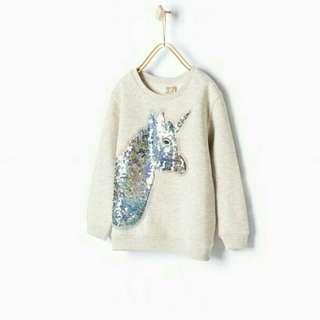 Zara unicon pullover