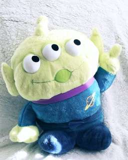 Toy Story - Jumbo Alien Pose Fluffy Plushy