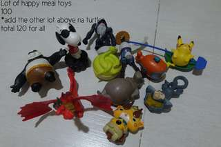 Lot of Happy Meal Toys